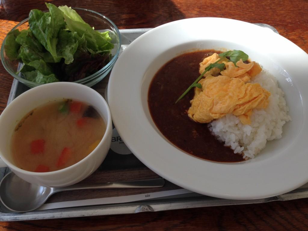 栃木 那須高原 ナスショウゾウカフェ NASUSHOZOCAFE 期間限定 那須食堂 料理 ハヤシライス