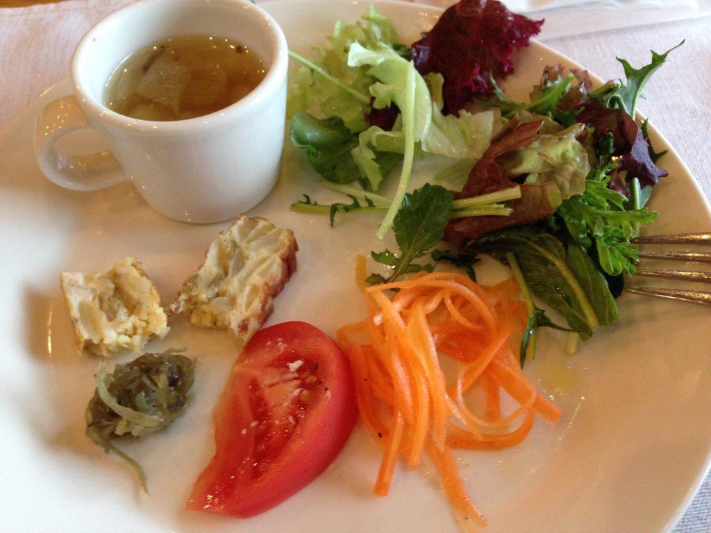 栃木 那須高原 クチーナハセガワ イタリアン 料理 前菜