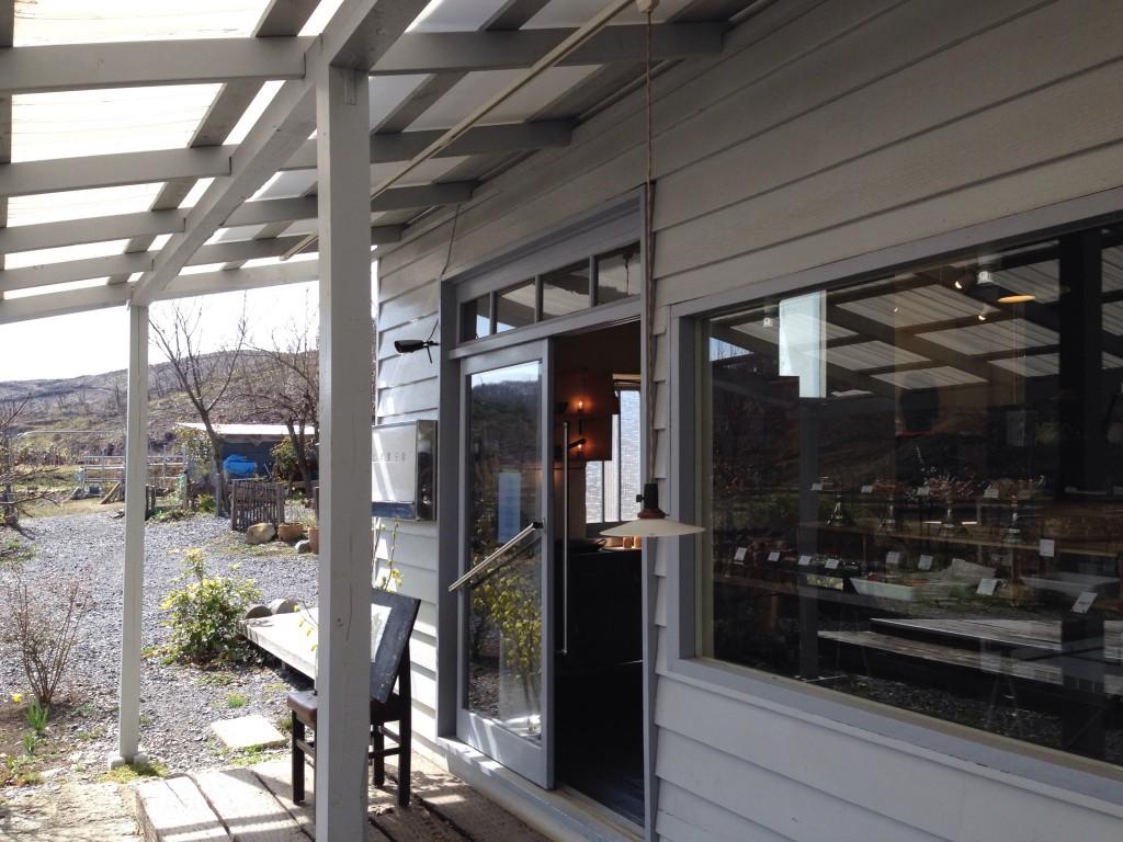福島 西郷 さじ洋菓子店 外観 入口 建物