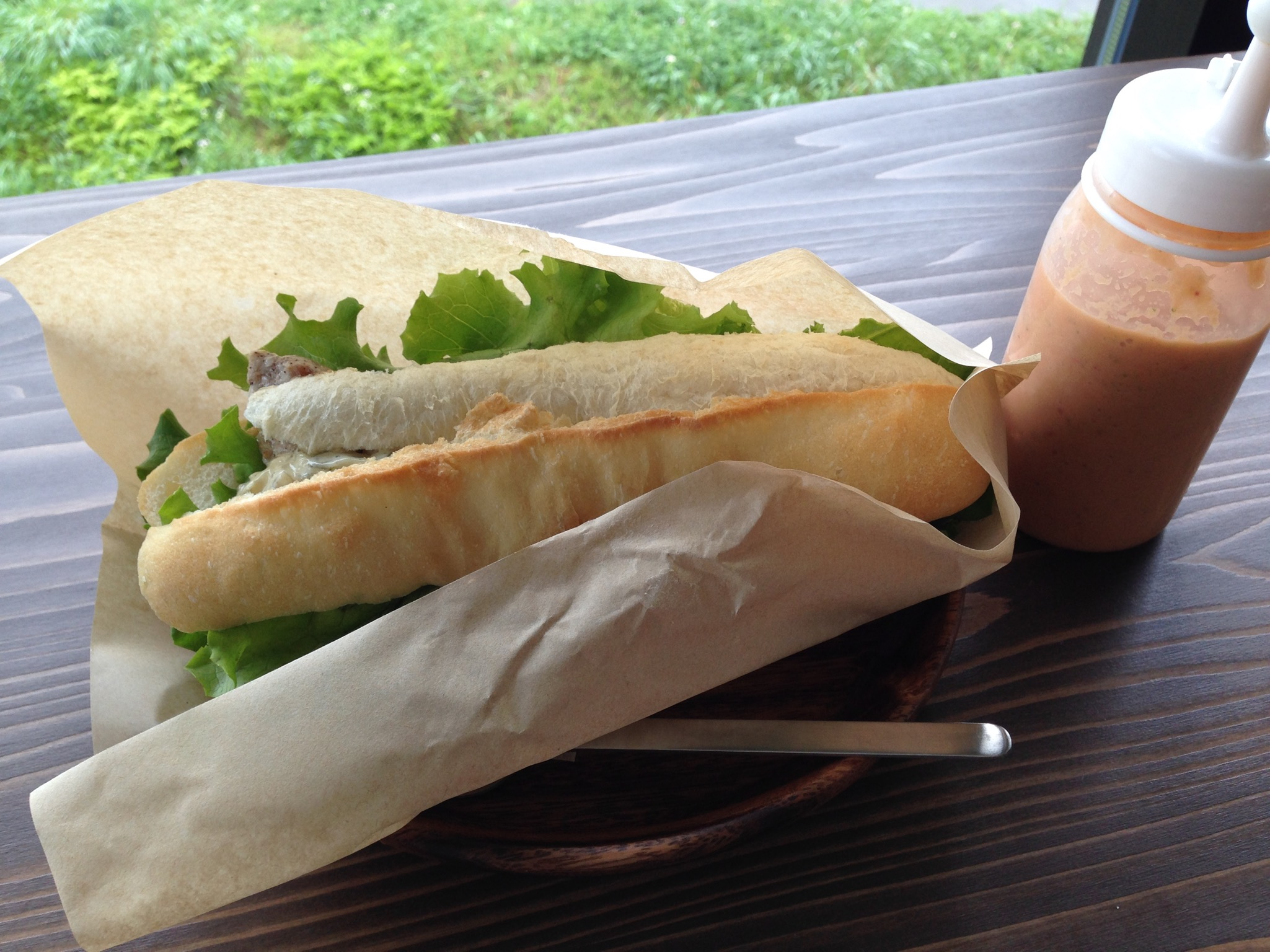 栃木 那須高原 vamos ヴァモス 料理 サンドウィッチ