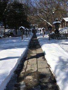 栃木 那須温泉神社 初詣で