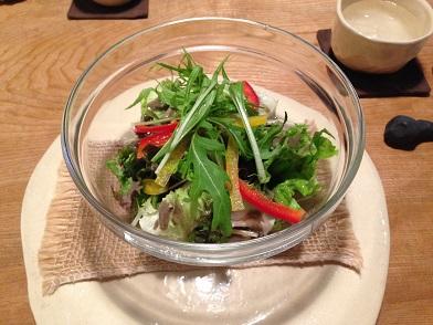 栃木 那須塩原 フランシーズ ナチュール Franchise Nature 料理 サラダ