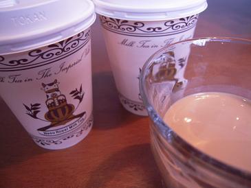 栃木 那須高原 アンティーズ 英国伝統紅茶館 ロイヤルミルクティー