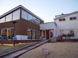 栃木 那須高原 キャンドルハウスシュシュ クリスマスタウン 外観 建物