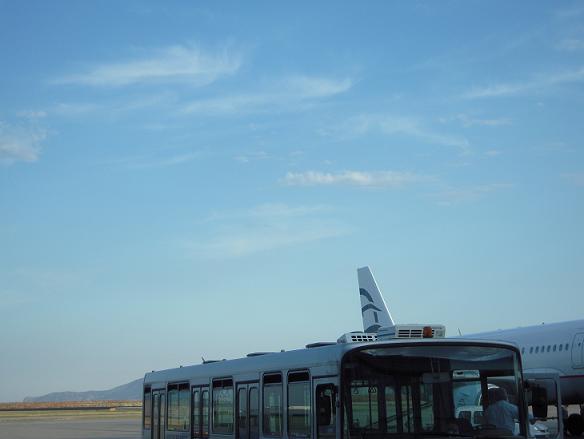 ギリシャ アテネ空港