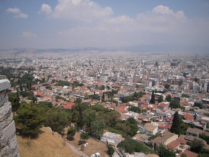 ギリシャ アテネ 町並み