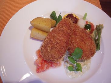 栃木 那須高原 レストランきたざき 料理 メイン