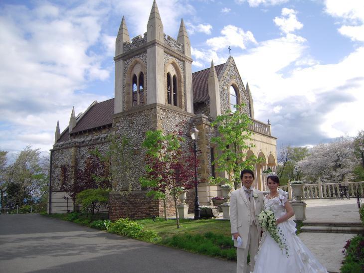 栃木 那須 ミッシェルガーデンコート 結婚式 挙式 花嫁 花婿 桜