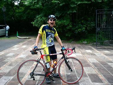 栃木 那須高原 ロングライド ロードバイク 応援