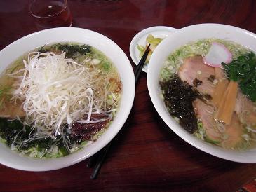 栃木 那須塩原 手打ちらーめん おおもり 料理