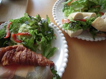 栃木 那須塩原 カフェロイム CafeRoimu 料理 サンド サラダ