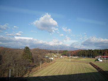 東北新幹線 車窓