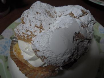 福島 いわき 平良 白土屋菓子店 シュークリーム 大きい ビッグサイズ