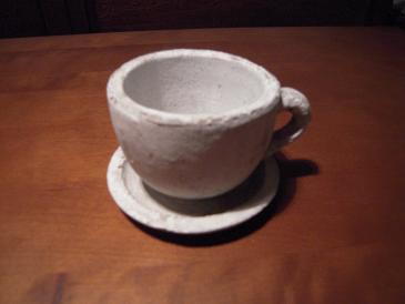 栃木 那須高原 ペンショントント コーヒーカップ型鉢