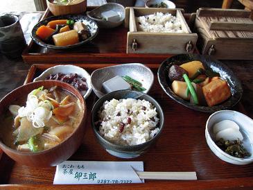 栃木 那須高原 茶屋卯三郎 うさぶろう 料理