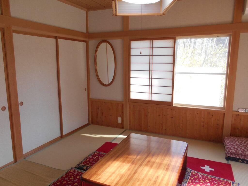 栃木 那須高原 コテージ 一棟貸し 貸し別荘 民泊 和室