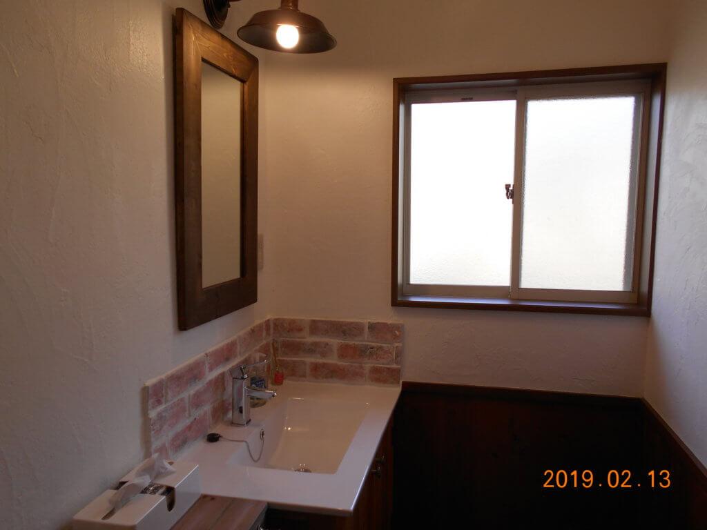 栃木 那須高原 コテージ 一棟貸し 貸し別荘 民泊 洗面台