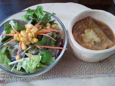 栃木 那須塩原 フランシーズ ナチュール Franchise Nature 料理 サラダ スープ