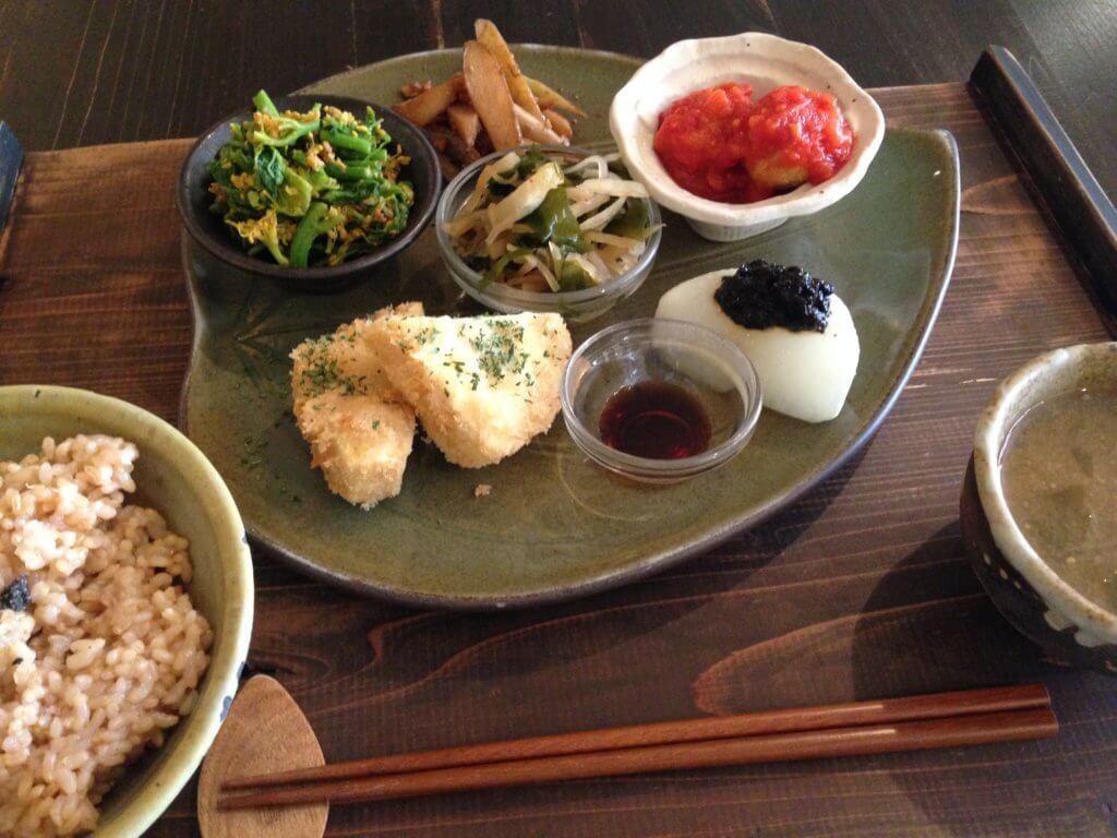栃木 那須塩原 穀菜茶房 こと葉 こくさいさぼうことは 料理