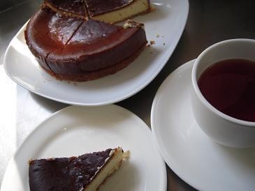 栃木 那須高原 ペンショントント チーズケーキ