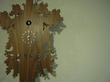栃木 那須高原 ペンショントント 館内 雑貨 鳩時計 壁掛け時計