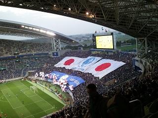 さいたまスタジアム 日本代表戦