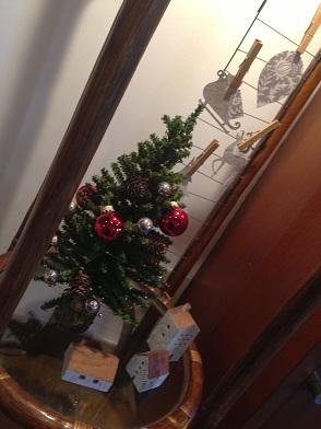 栃木 那須高原 ペンショントント クリスマス 館内