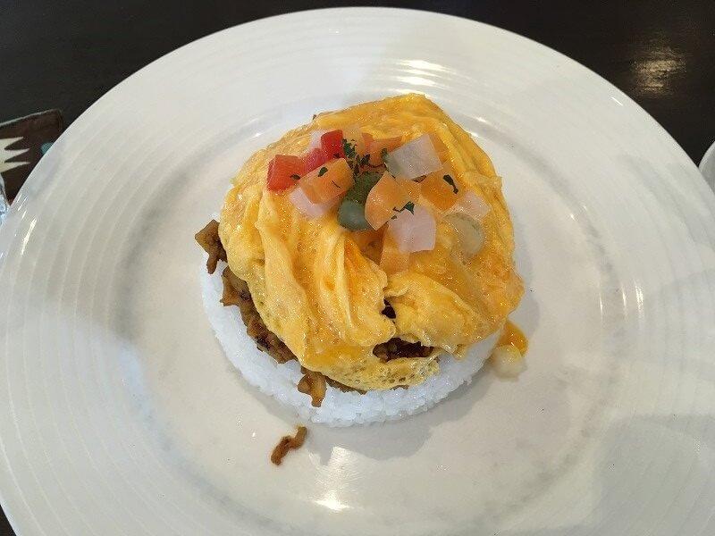 栃木 那須塩原 青木 カフェノビロ CafeNOVIRO 料理 ドライカレー