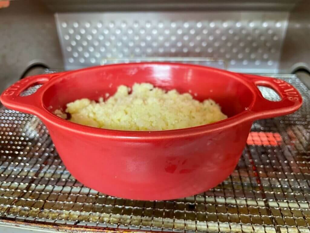 りんごのクランブルいつものクランブルを使ったアレンジレシピ集オーブントースター