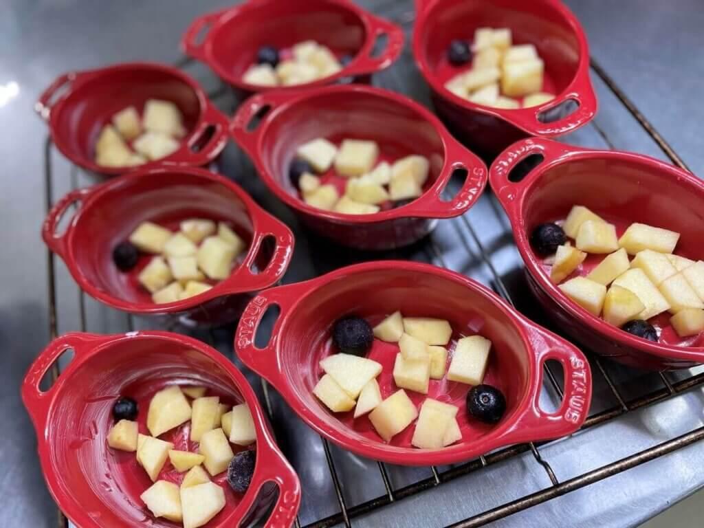りんごのクランブルいつものクランブルを使ったアレンジレシピ集