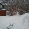 【那須トントより】雪だるまさんのかまくら